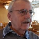 Jakob Hürlimann bei einem Besuch im Pflegeheim im April 2015